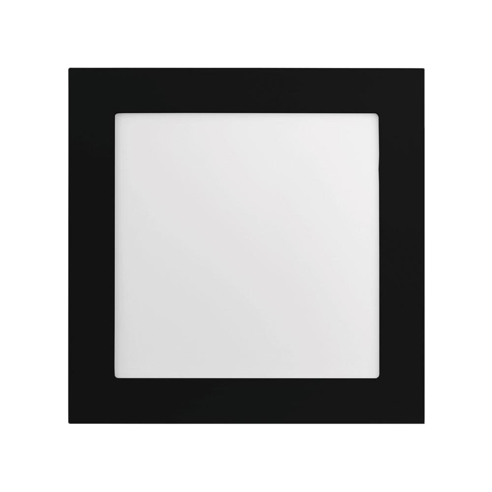 LUMINÁRIA QUADRADA DE SOBREPOR 20W JET BLACK ALTO IRC