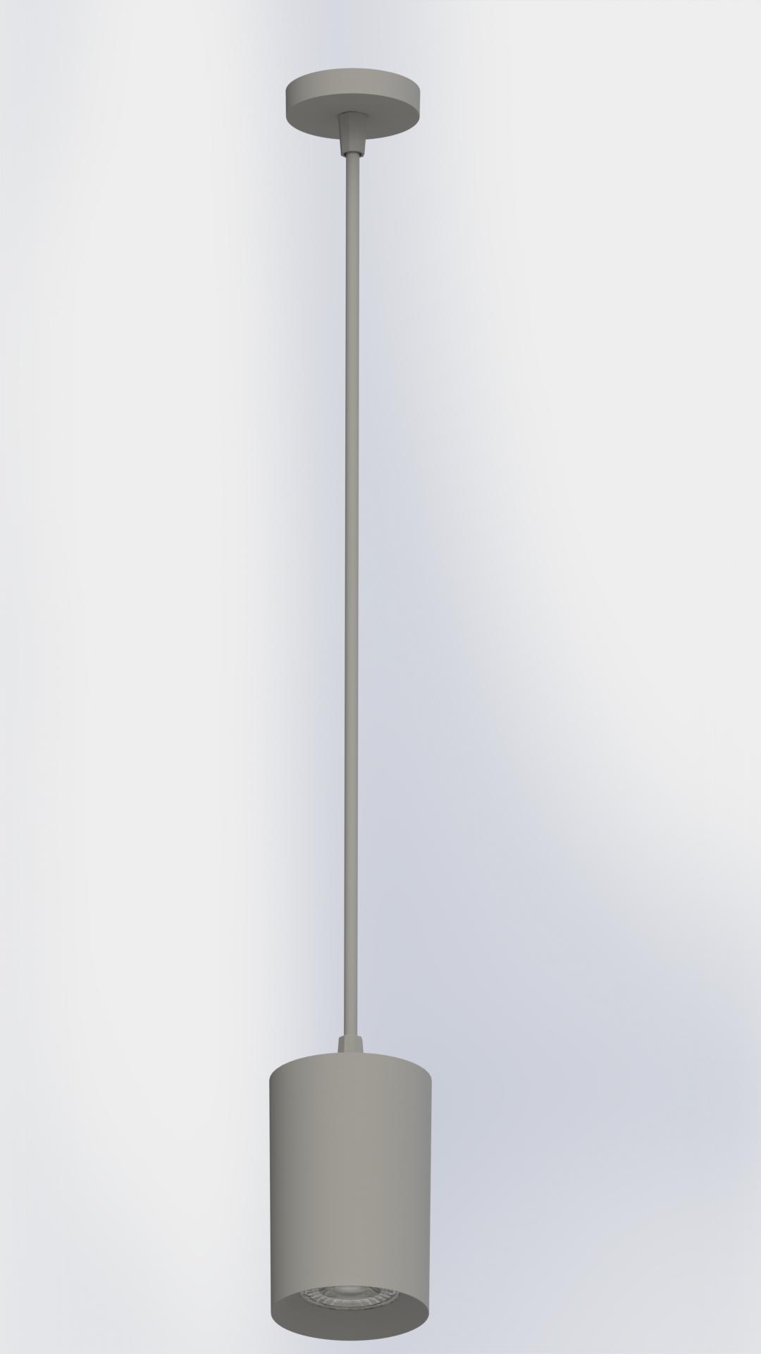 PLAFON TOWER PENDENTE REDONDO FACE RECUADA